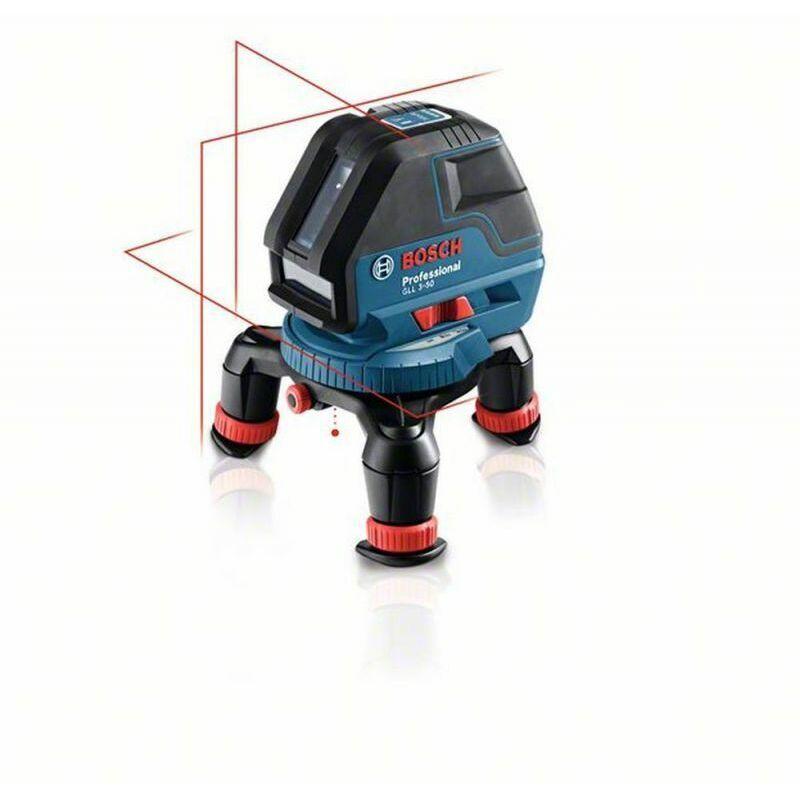 BOSCH Laser croix BOSCH GLL 3-50 + support BM1