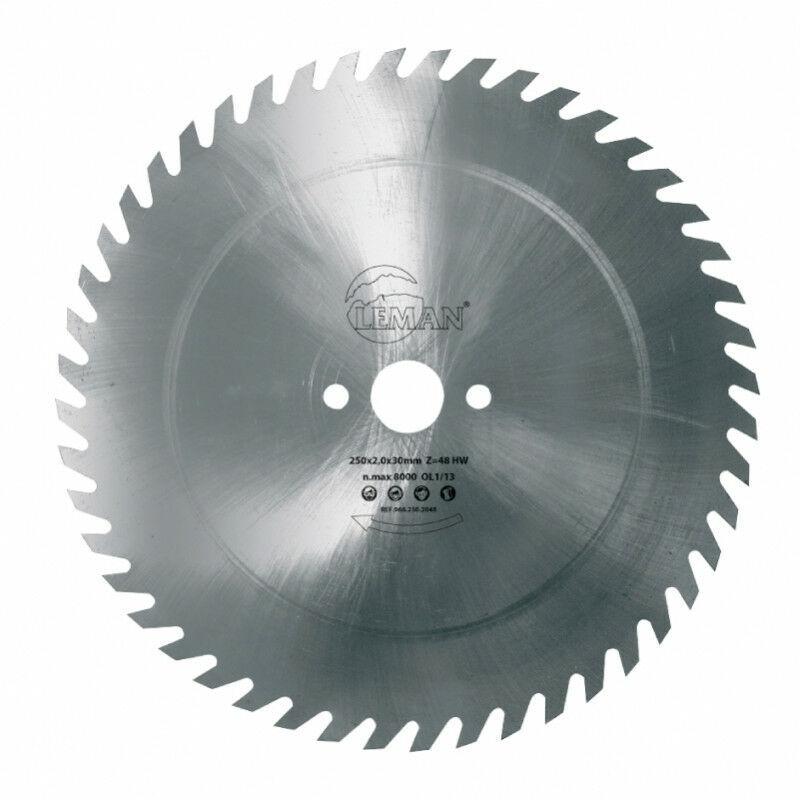 Leman – Lame de scie à buches acier 500 mm – 56 dents pour le bois de chauffage