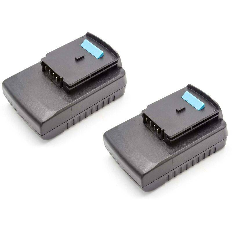 VHBW Lot 2 batteries Li-Ion vhbw 2000mAh (18V) pour outils Black & Decker GKC1000L,