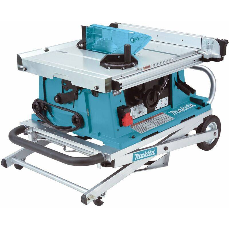 Makita 2704X - Scie sur table + support mobile 194093-8 - 1650W - 260 x 30mm