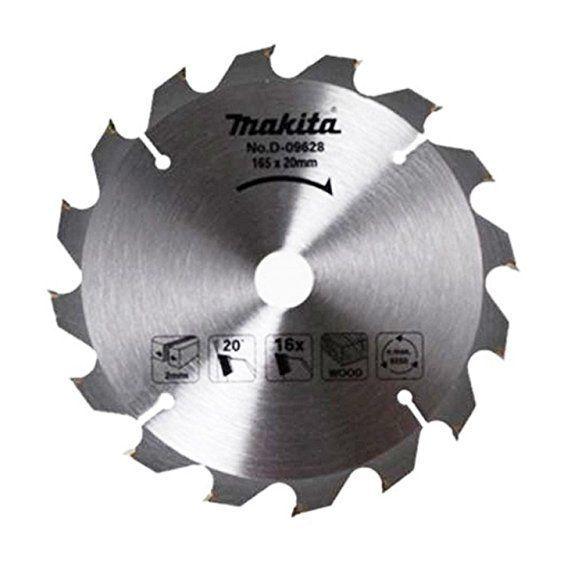 Makita d-09628Lame de scie circulaire diamètre: 165mm x 16dents pour scie à