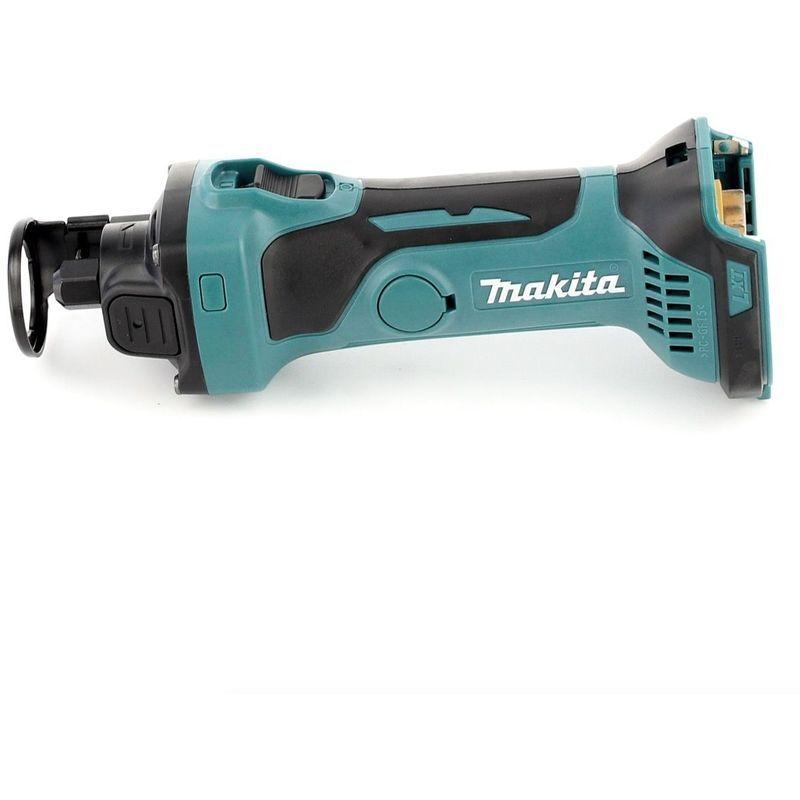 Makita DCO 180 RMJ Affleureuse plaque de plâtre 18V avec boîtier MAKPAC + 1 x