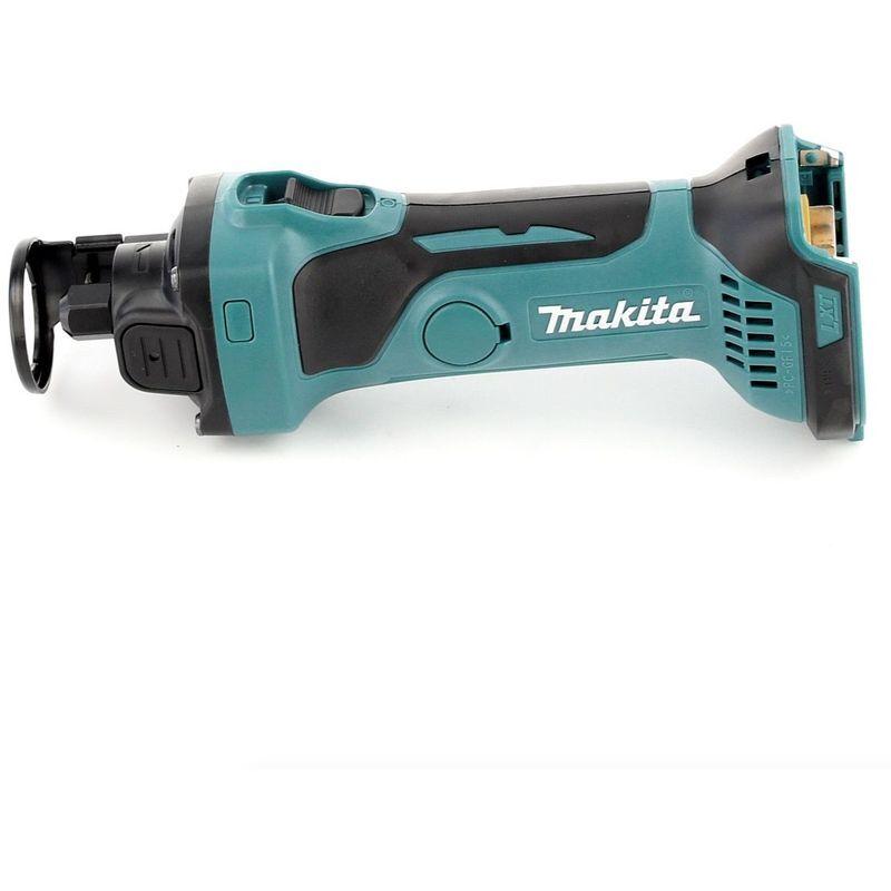 Makita DCO 180 RMJ Affleureuse plaque de plâtre 18V avec boîtier MAKPAC + 2 x