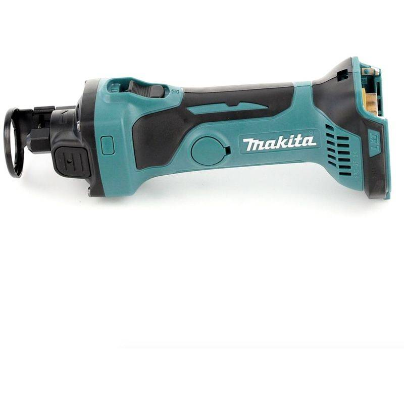 Makita DCO 180 T1J Affleureuse plaque de plâtre 18V avec boîtier MAKPAC + 1 x