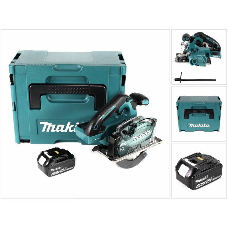 Makita DCS 553 M1J Scie circulaire à main sans fil 18V 150 mm Brushless + 1x