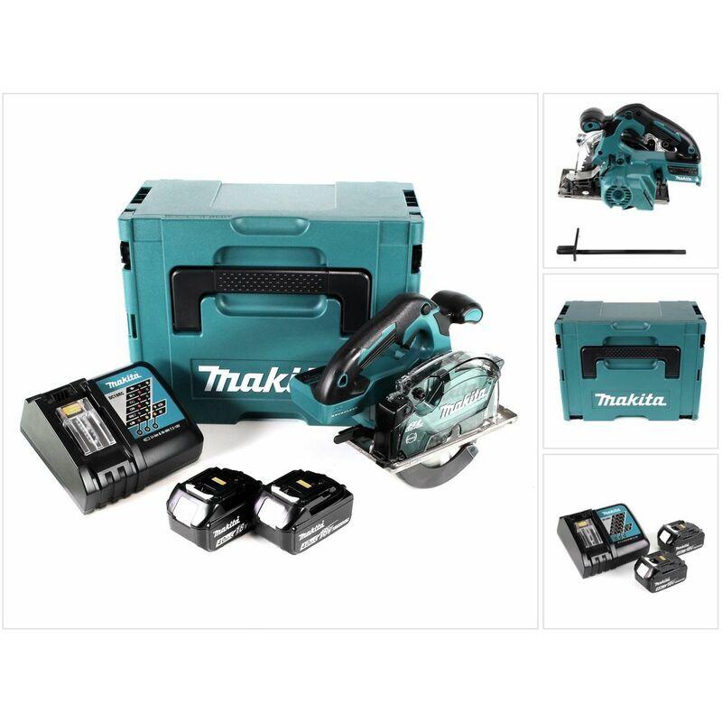Makita DCS 553 RMJ Scie circulaire à main sans fil 18V 150 mm Brushless + 2x