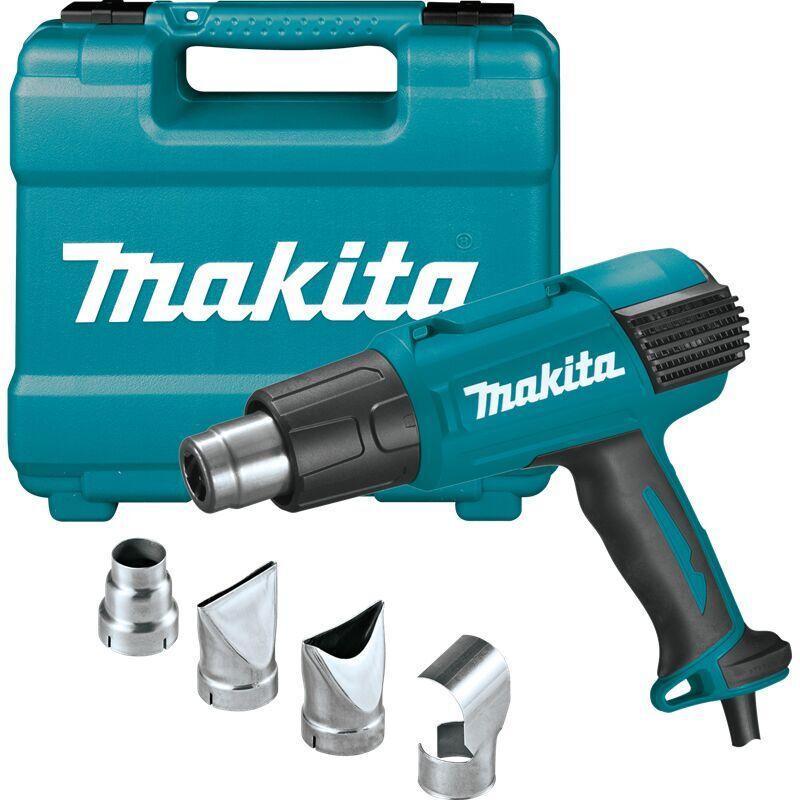 Makita - Décapeur thermique 2000W 50 – 650°C avec accessoires et coffret