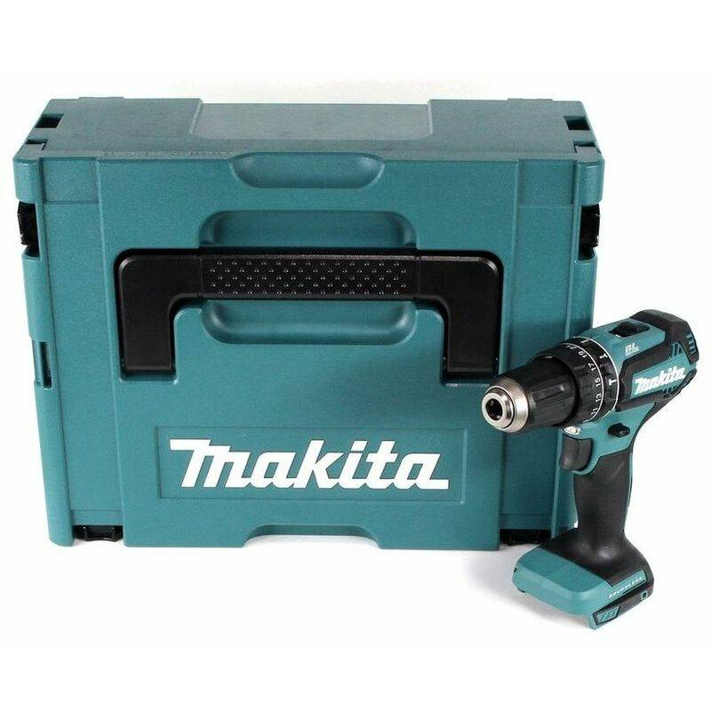 Makita DHP485ZJ Perceuse visseuse à percussion à batteries 18V Li-Ion (machine
