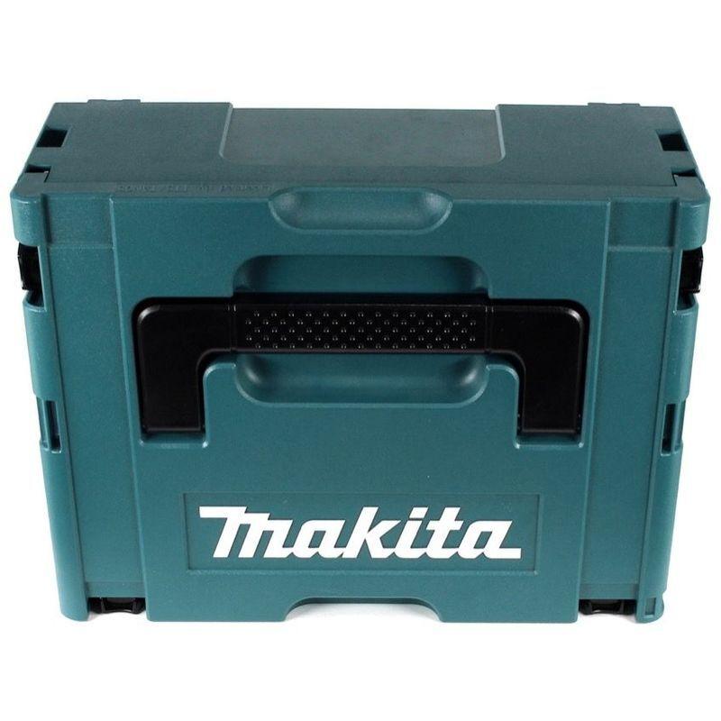 Makita DJR 183 RTJ 18V Li-ion Scie recipro sans fil + Coffret Makpac + 2x