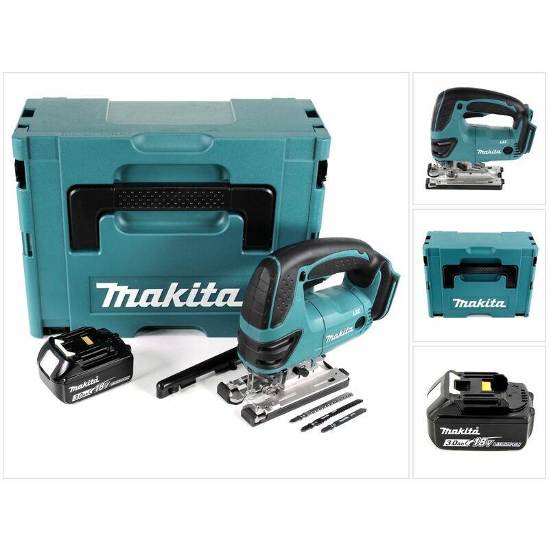 Makita DJV 180 F1J Scie sauteuse sans fil 18V + 1x Batterie 3,0Ah + Makpac