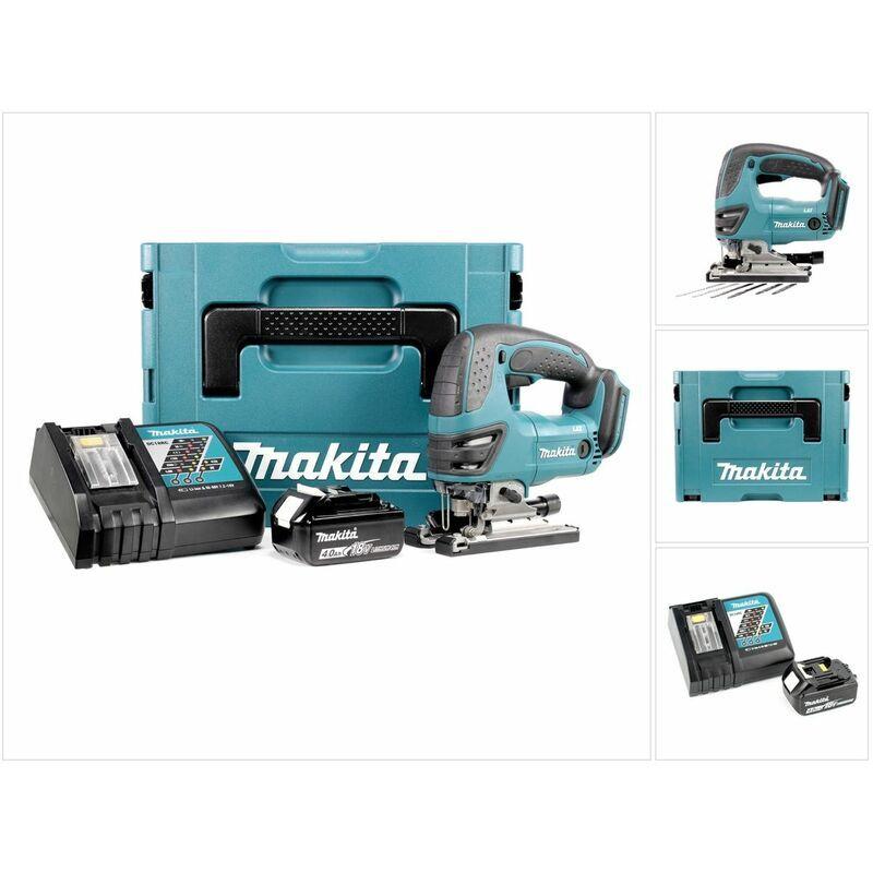 Makita DJV 180 RM1J Scie sauteuse sans fil 18V + 1x Batterie 4.0Ah + Chargeur +