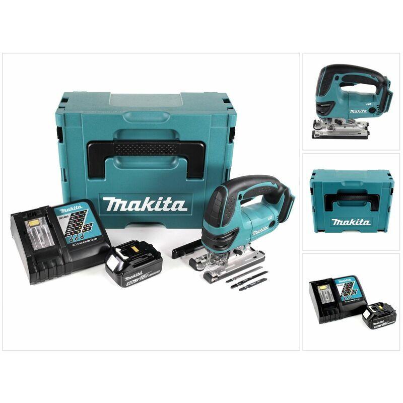 Makita DJV 180 RT1J Scie sauteuse sans fil 18V + 1x Batterie 5.0Ah + Chargeur +