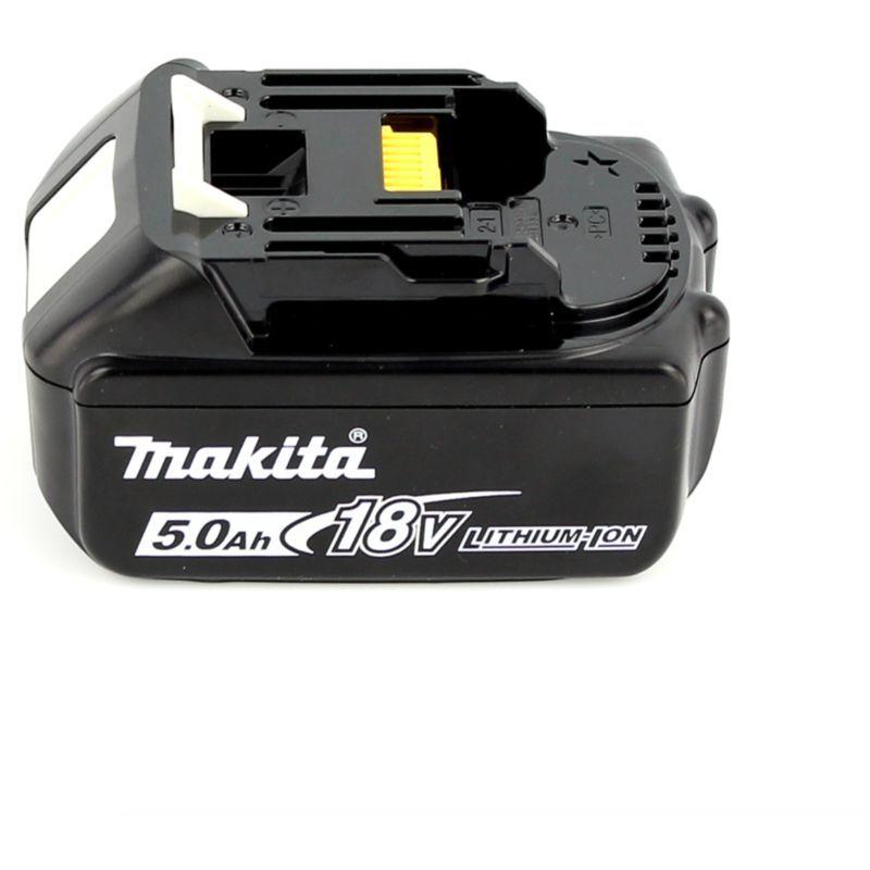 Makita DJV 181 T1J 18 V Li-ion Scie sauteuse sans fil + 1x Batterie BL 1850 B