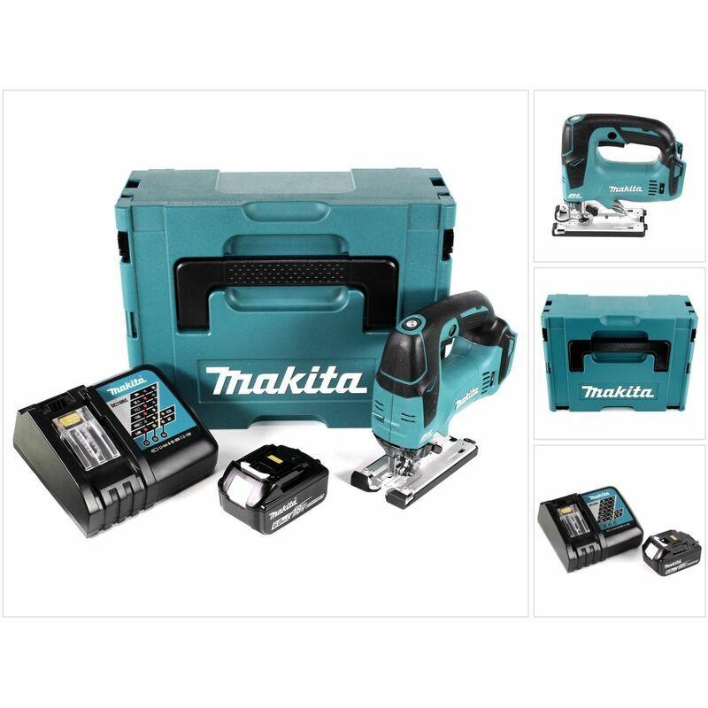 Makita DJV 182 RG1J Scie sauteuse sans fil 18V sans balai + 1x Batterie 6,0Ah +