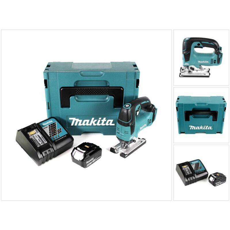 Makita DJV 182 RM1J Scie sauteuse sans fil 18V Brushless + 1x Batterie 4,0Ah +