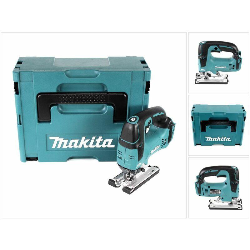 Makita DJV 182 ZJ Scie sauteuse sans fil 18V Brushless 26mm + Coffret de