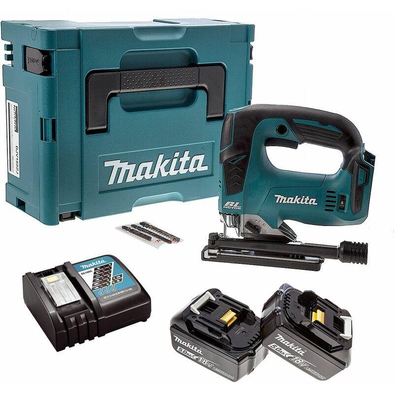 Makita DJV182RTJ Scie sauteuse à batteries 18V Li-Ion set (2x batterie 5,0Ah)