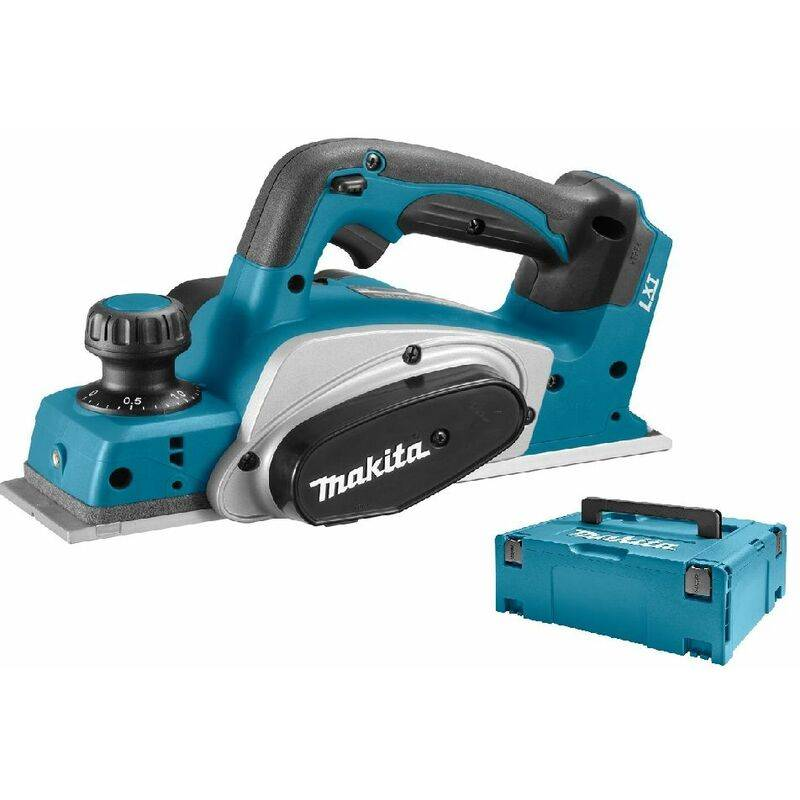 Makita DKP180ZJ Rabot à batteries 18V Li-Ion (machine seule) dans MAKPAC