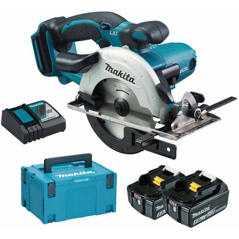 Makita DSS501RTJ Scie circulaire à batteries 18V Li-Ion set (2x batteries