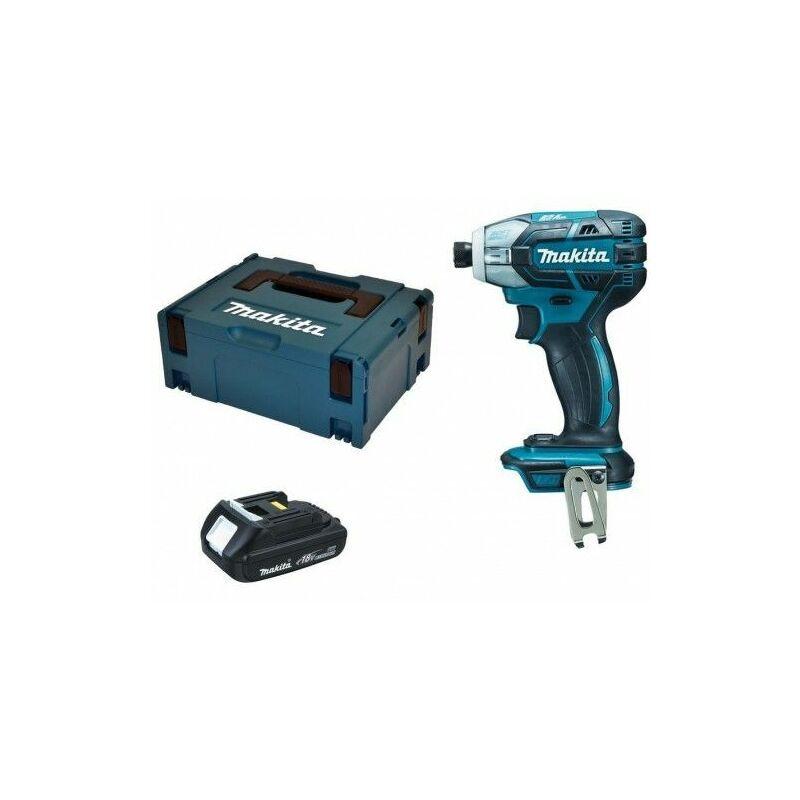 Makita DTS141Z Visseuse à chocs à batteries 18V Li-Ion set (1x batterie 1.5Ah)