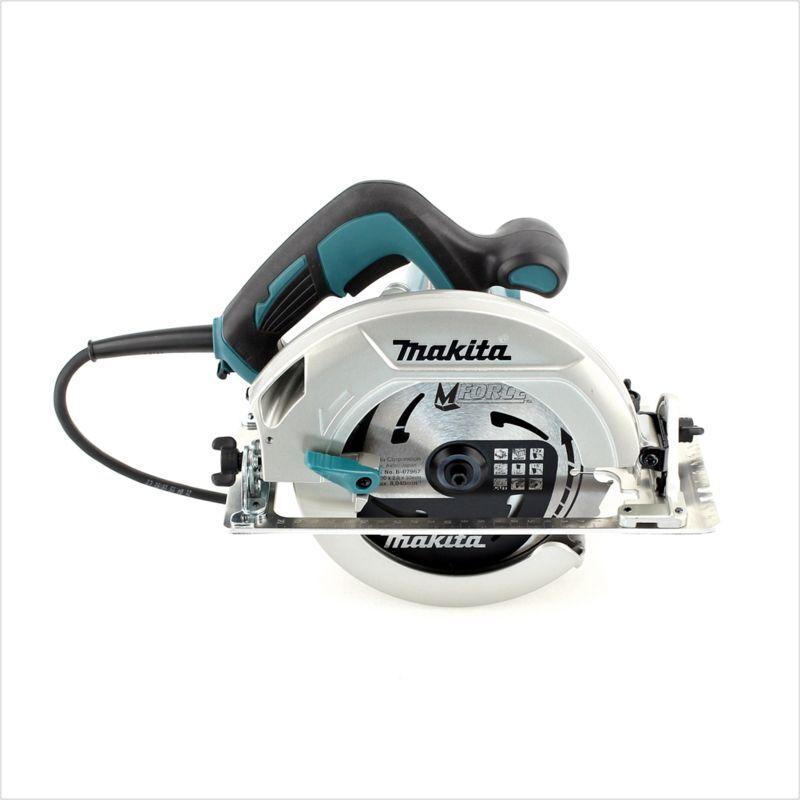 Makita HS 7601 J 1200 W Scie circulaire électrique + Coffret Makpac + Lame de