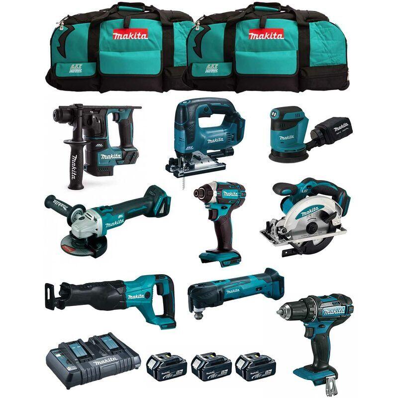 MAKITA Kit MK901 (DDF482 DHR171 DGA504 DTD152 DJV182 DSS610 DJR186 DBO180 DTM51