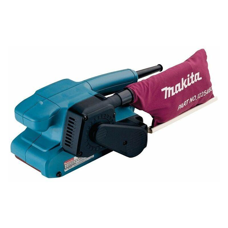 Makita Ponceuse à bande 76 mm, 650 W en MAKPAC - 9910J