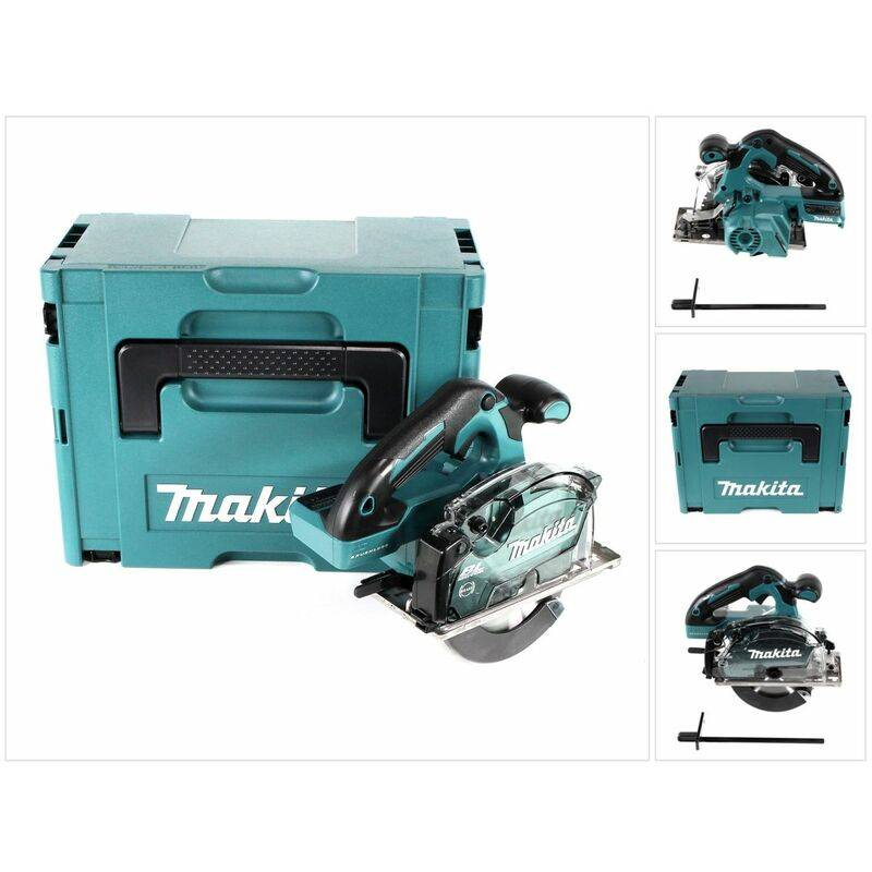 Makita DCS 553 ZJ Scie circulaire à main sans fil 18V 150 mm Brushless +