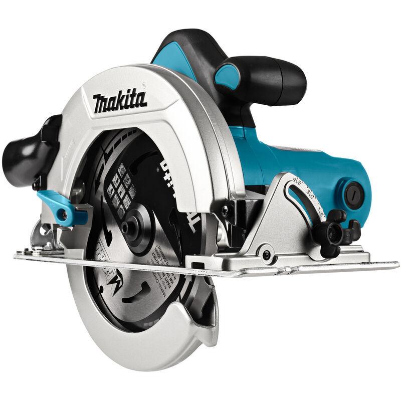 Makita - Scie circulaire 1200W lame 190x30mm avec coffret - HS7601J - TNT