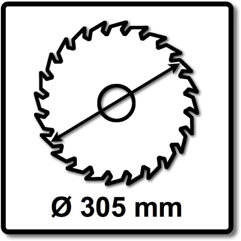 Makita SPECIALIZED Lame de scie métal 305 x 25,4 x 2,3 mm - 78 dents ( B-33467