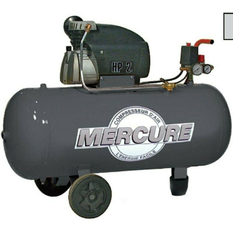 NO NAME Compresseur Mercure 100 Litres 2cv