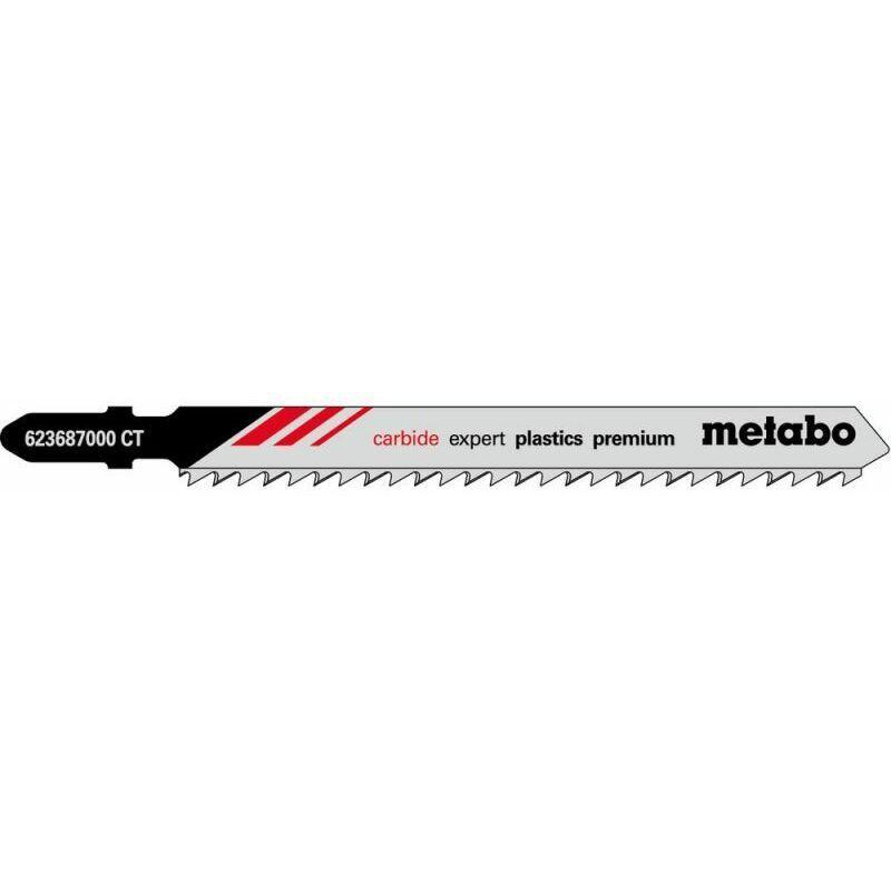 Metabo 3 Lames de scies sauteuses, synth., expert, 91/ 3,3 mm (623687000)