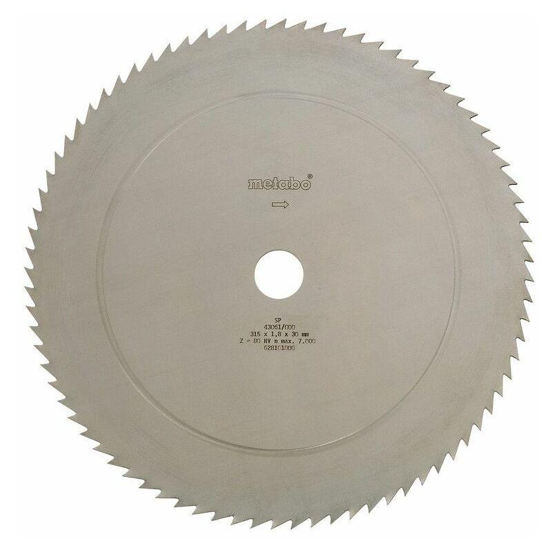 Metabo Lame de scie circulaire CV 400 x 30, 56 KV