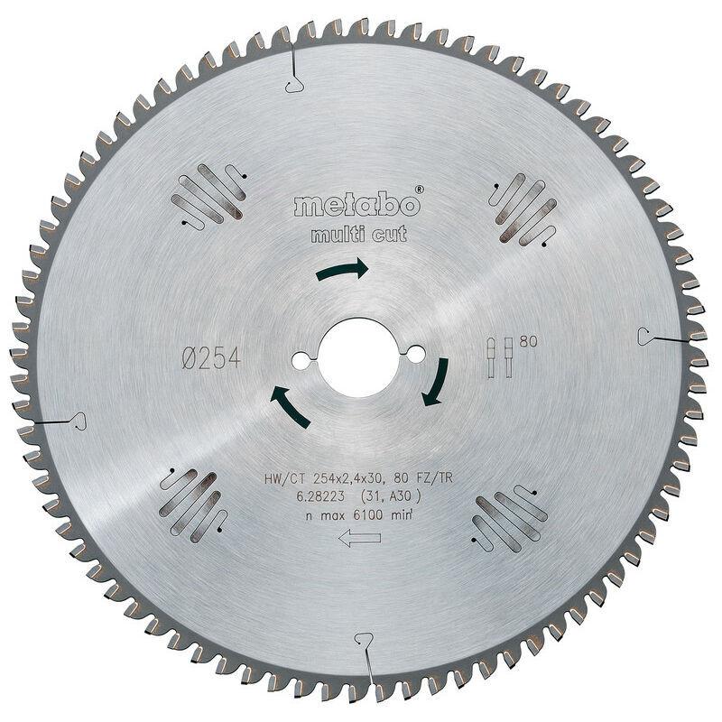 METABO Lame de scie circulaire au carbure Metabo HW/CT 305X30 96 FZ/TR5 628091000 305