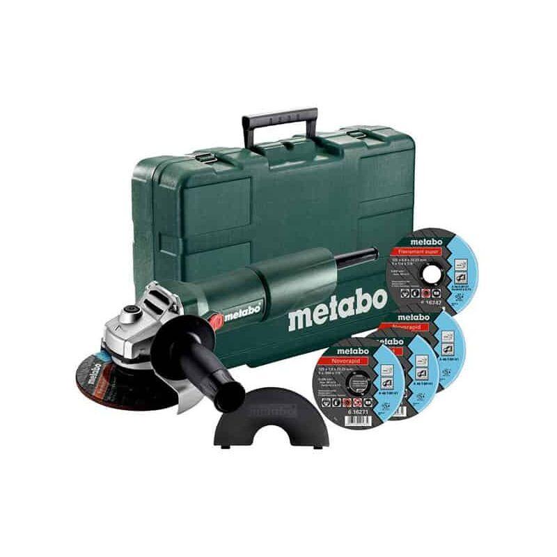METABO Meuleuse 125mm 750W WQ 750-125 SET - 603605680