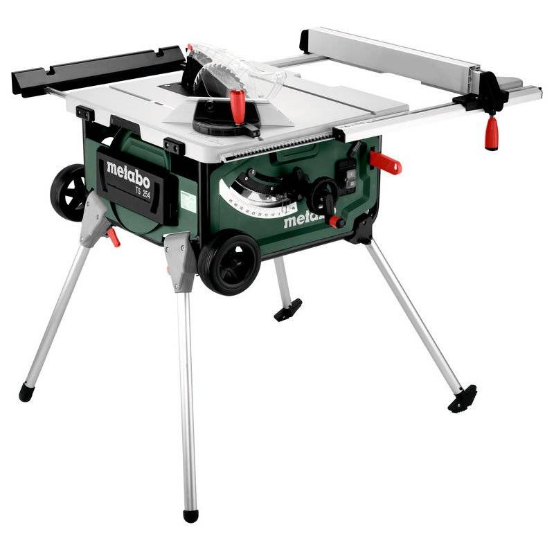 Metabo TS 254 Scie circulaire sur table - 2000W - 254 x 30mm