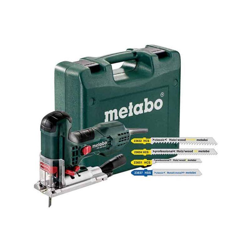 METABO Scie sauteuse 710W STE100Quick + 20 lames - 601100900