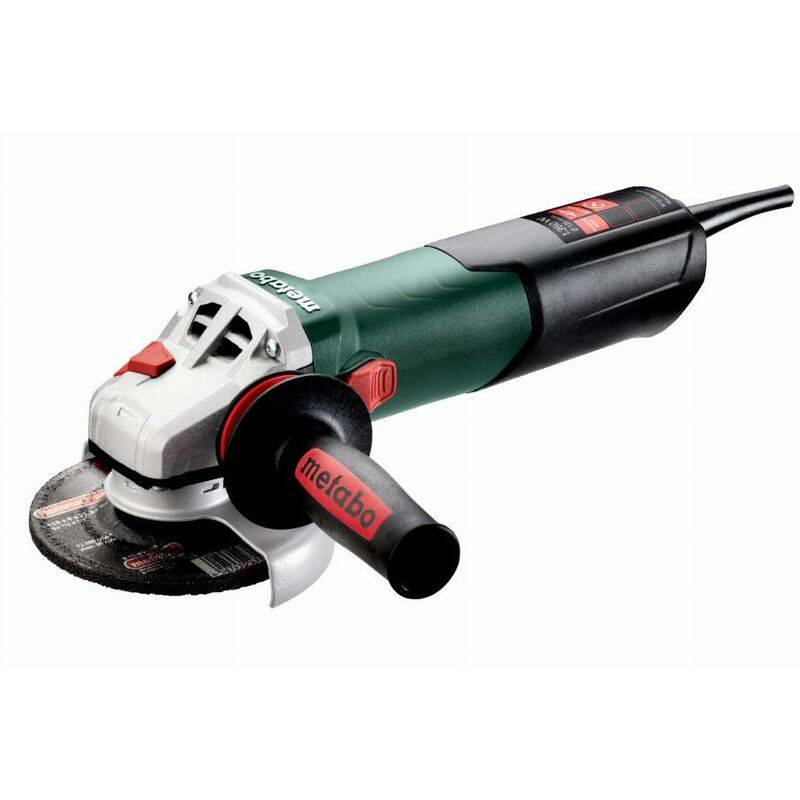 METABO Meuleuse Ø125 mm filaire W 13-125 QUICK METABO + coffret - 603627500