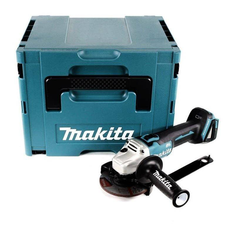 MAKITA Meuleuse d'angle 18V Li-Ion BL Ø125mm (machine seule) dans MAKPAC Makita