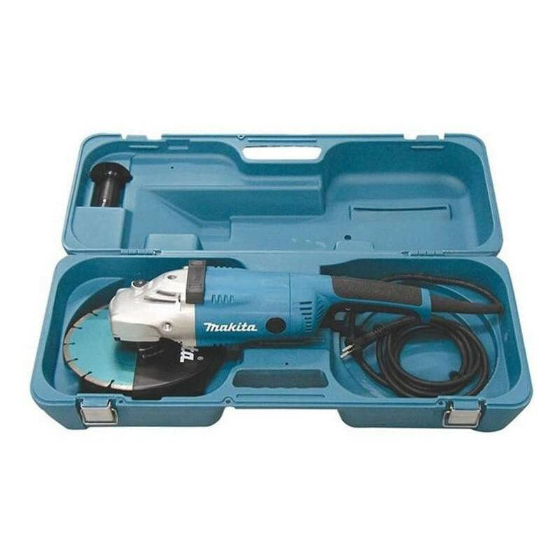 MAKITA Meuleuse d'angle Ø230mm 2200W dans coffret synthétique - MAKITA GA9020RKD