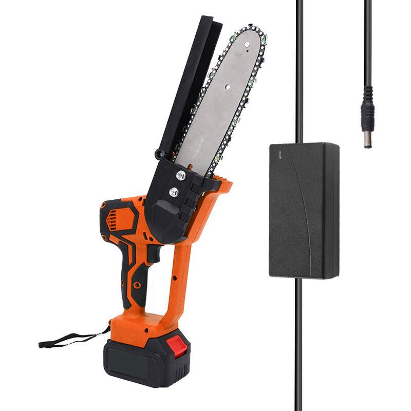 Happyshopping - Mini scie a chaine electrique sans fil de 8 pouces Scie