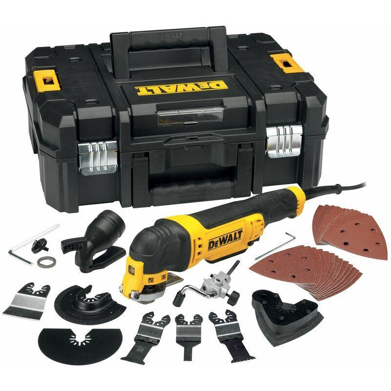 DEWALT Multi-Tool - 300 W - 32 Accessoires - DEWALT, DWE315KT-QS