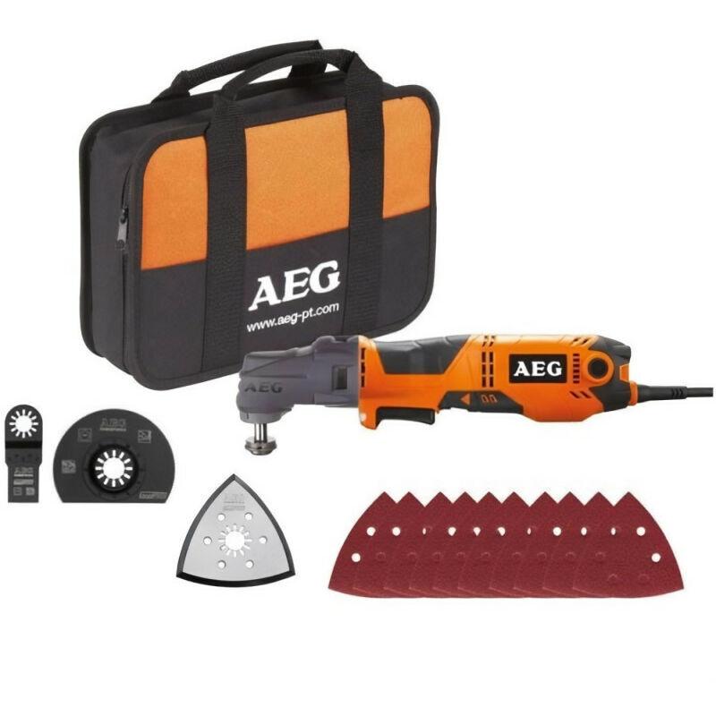 AEG POWERTOOLS A.e.g - Outil multifonctions électrique AEG 300W OMNI-300KIT1