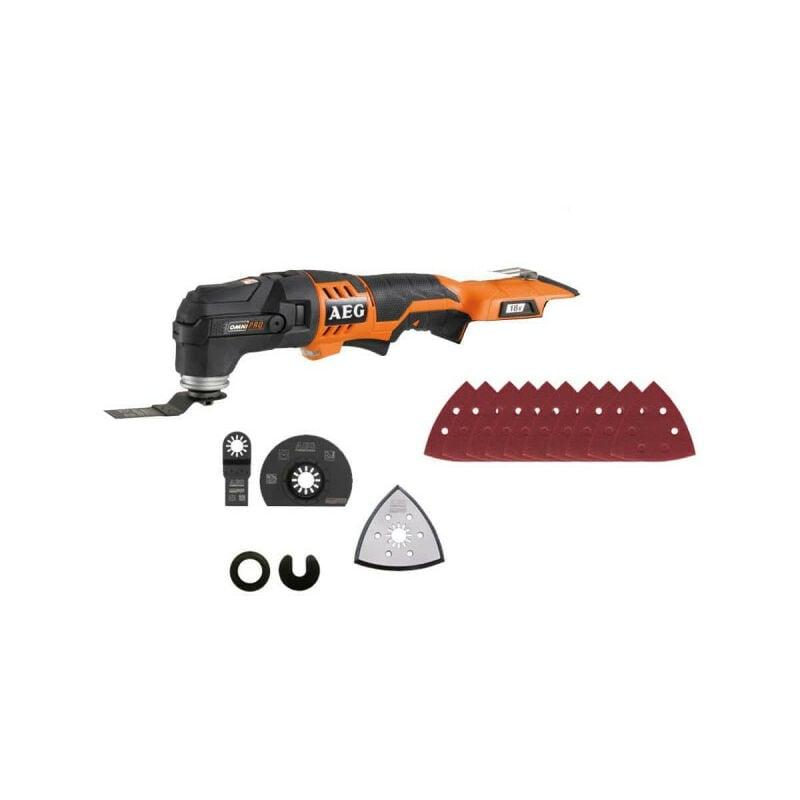 AEG Outil multifonctions Multi tool AEG 18V Li-ion sans batterie ni chargeur OMNI
