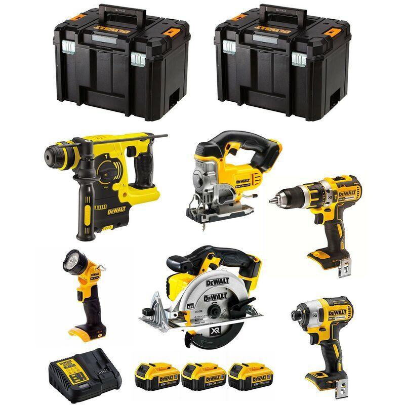 DeWALT Kit DCK699M3T (DCD796 DCS391 DCS331 DCF887 DCH273 DCL050 3 x 4,0 Ah