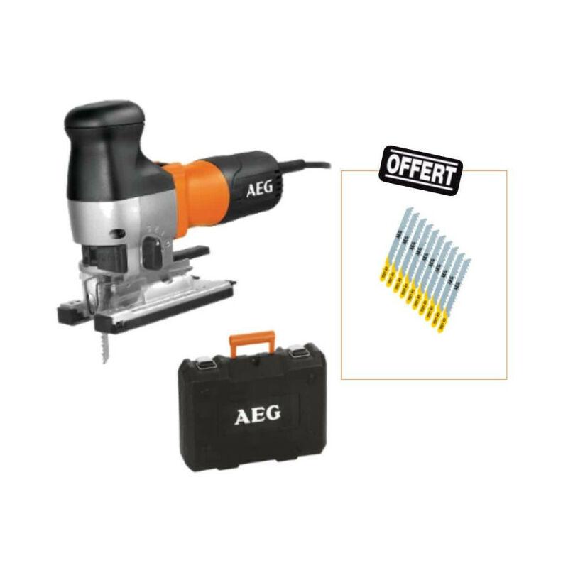 AEG Pack AEG Scie sauteuse 730W - STEP 1200 XE - deux coffrets de dix lames offerts