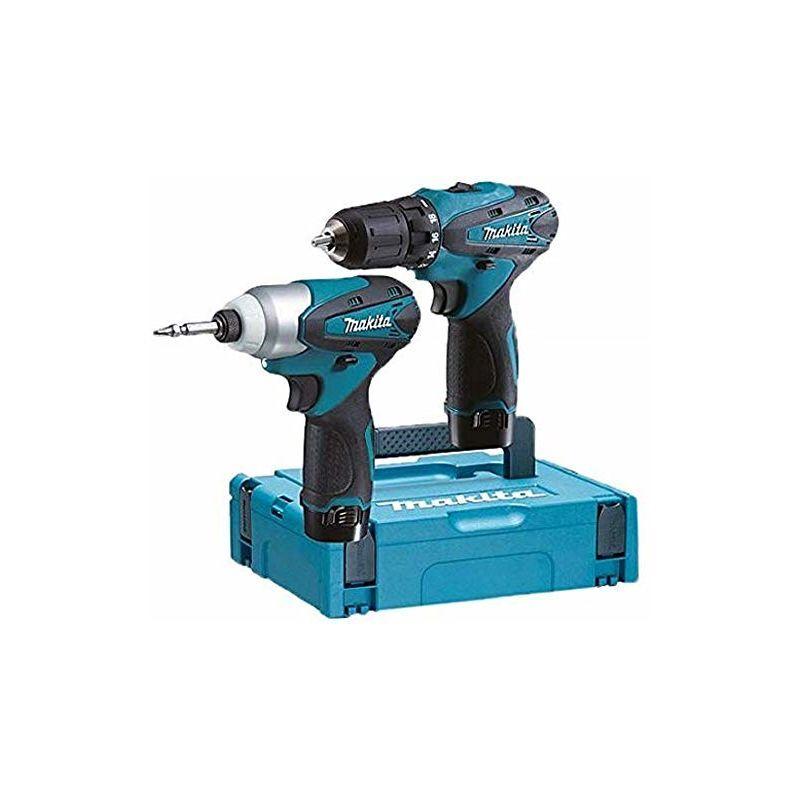 MAKITA Pack de 2 Machines LCT204J Makita