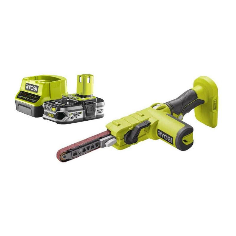 RYOBI Pack RYOBI Lime électrique 18V R18PF-0 - 1 Batterie 2.5Ah - 1 Chargeur rapide
