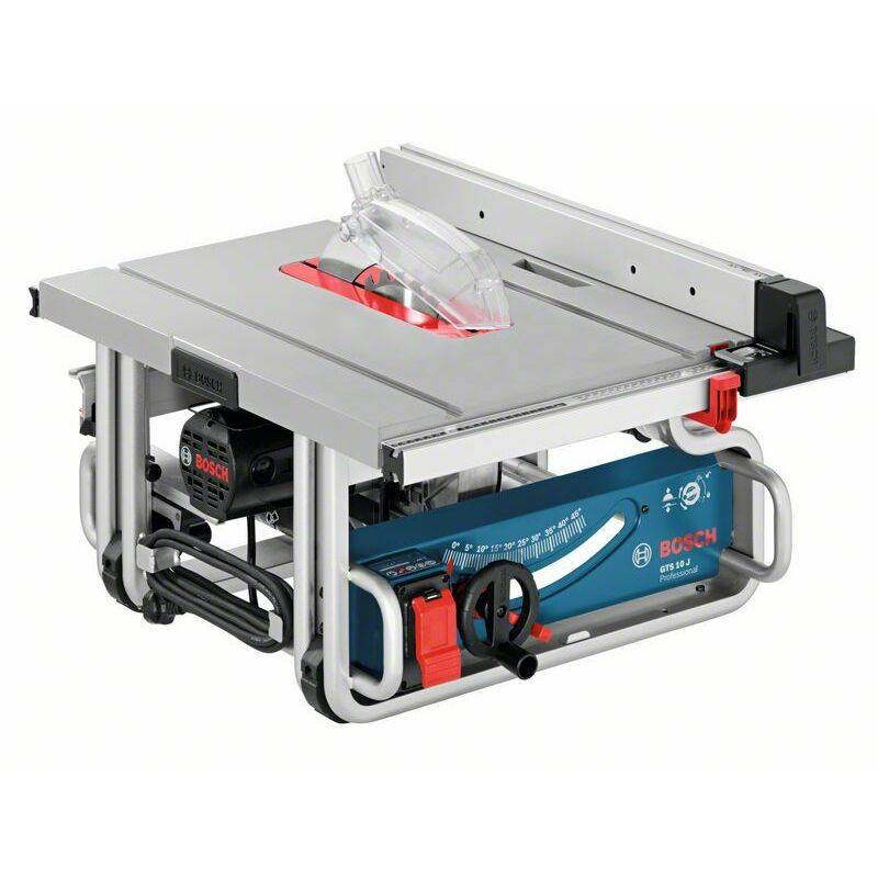 Bosch Professional Scie circulaire à table GTS 10 J, 1 800 W - 0601B30500