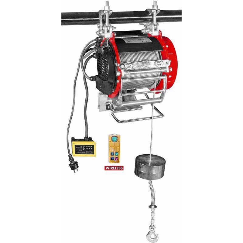 MW-TOOLS Palan électrique SANS fil robuste 400/800 kg MW-Tools PH400-R